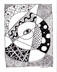 First zentangle